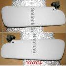 Genuine TOYOTA Sun Visor Set R &L 74320-90303 74310-90303 FJ4# Land Cruiser  Oem Jdm