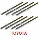 New Oem 1 set of 8 Rods Push 13781-31011 TOYOTA Genuine