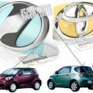 New Oem IQ Emblem Front & Rear Jdm TOYOTA SCION 2009 2010 2011 2012 2013 Genuine