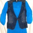 Lane Bryant Jeans Vest