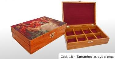 Hardwood box (religious)