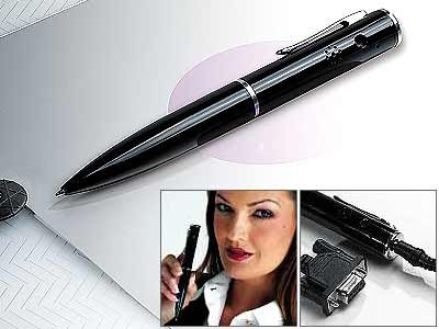 Spion James Bond Super Mini Digital Camera Spy Pen (2MB)