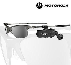 Motorola RAZRWIRE - Oakley Bluetooth Eyewear (Black)