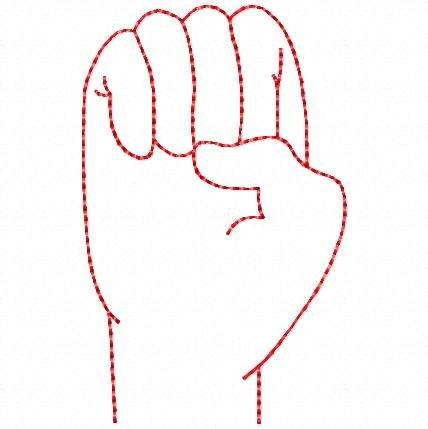 American Sign Language Vowels