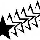 Stars Vinyl Decal Car Sticker - Stars 1