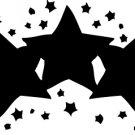 Stars Vinyl Decal Car Sticker - Stars 18
