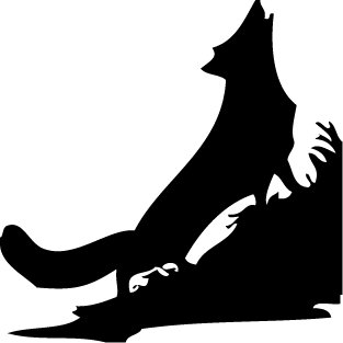 Vinyl Decal Car Sticker - animal wolf