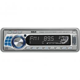 RCA Motorized Faceplate In-Dash AM/FM MP3/CD And iPod® Ready