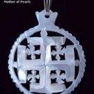Mother of Pearl Jerusalem Cross