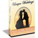 Unique Weddings - ebook