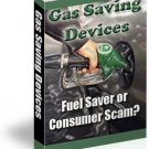 Gas Saving Devices - ebook