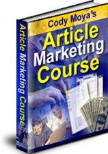 Article Marketing Course - ebook