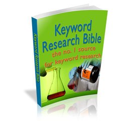 Keyword Research Bible - ebook