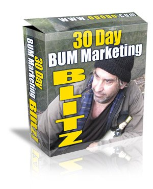 30 Day Bum Marketing Blitz - ebook