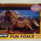 Breyer model horse  #1372 Fun Foals Collectors Event Chestnut Mare, traditional scale, new in box