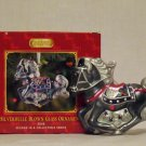 Breyer model horse #700668 Silverbelle Glass Blown Oranement, new in box