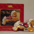 Breyer model horse #700667 Ginger Glass Blown Oranement, new in box