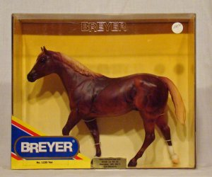 Breyer model horse #1235 Tex Quarter Horse, traditional scale, new in box