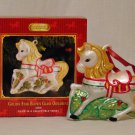 Breyer model horse #700669 Golden Star Glass Blown Oranement, new in box