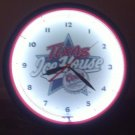 Coors Texas Ice House CLOCK