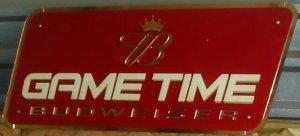 Budweiser Game Time neon
