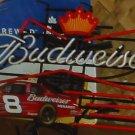 Budweiser #8 NASCAR neon