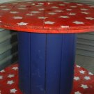 Custom Painted Bar Tables