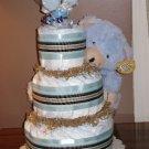 DELUXE DIAPER CAKE