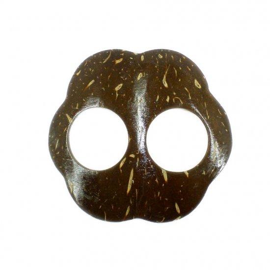 Hand Made Coconut Shell Buckle For Sarong Pareo Scarf (PB90)