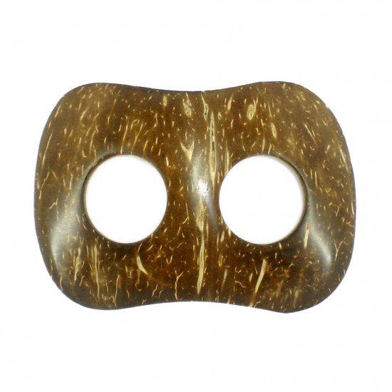 Hand Made Coconut Shell Buckle For Sarong Pareo Scarf (PB120)