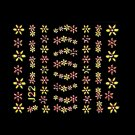 3D Nail Art Decoration Sticker Decal Manicure Floral (NA99)
