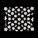 3D Nail Art Decoration Sticker Decal Manicure Floral (NA118)