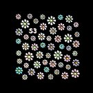 3D Nail Art Decoration Sticker Decal Manicure Floral (NA89)