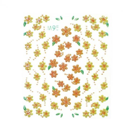 3D Nail Art Decoration Sticker Decal Manicure Floral (NA79)