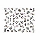 3D Nail Art Decoration Sticker Decal Manicure Floral (NA104)