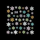 3D Nail Art Decoration Sticker Decal Manicure Floral (NA94)