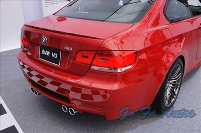 06 07 08 09 M3 STYLE BMW E92 E93 TRUNK LIP SPOILER WING-E92E93Mlip004-FRB1