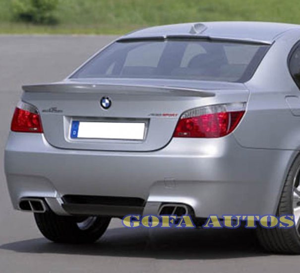 04 05 06 07 08 BMW E60 AC Trunk + Roof FRP Spoiler Wing-E60ACliproof004-FRA3