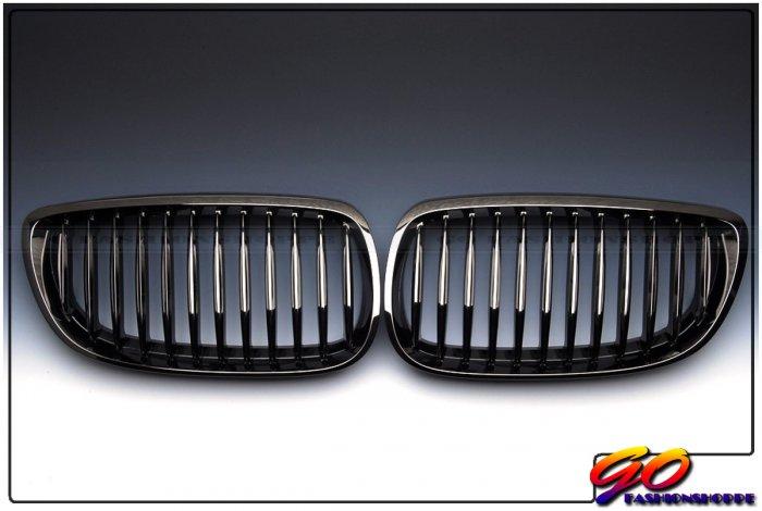 New BMW E92 E93 328i 335i Black Chrome Front Grille-GRH7