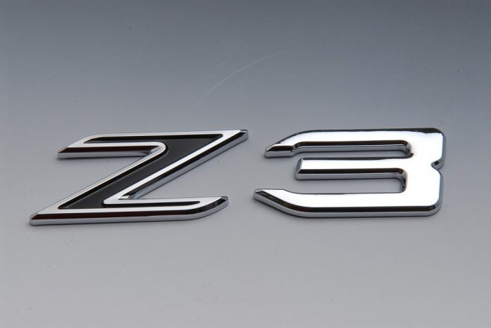 Bmw Trunk Rear Emblem Badge Letters Z3 Black
