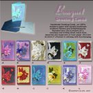 Greeting Cards, flowered