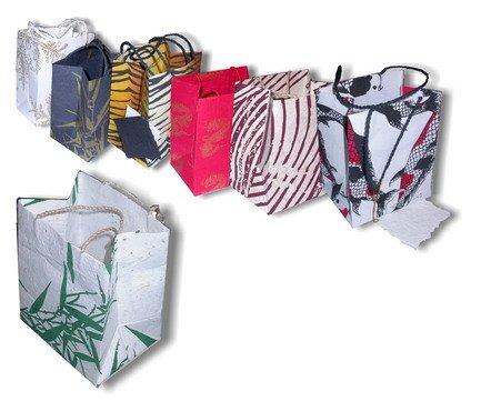 Paper Bags, handmade