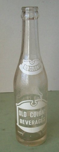 Old Colony Beverages  Soda Bottle   Pueblo CO.