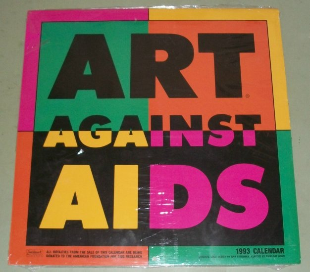 Art Against Aids  1993  Collectable Callendar  Brand New  Sealed