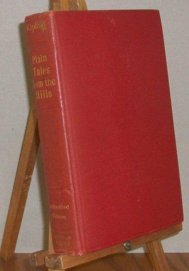 Kipling   Plain Tales From The Hills   1913