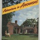 Adventures In Arkansas 1950's Travel Booklet