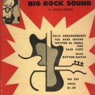 Bopper Chuckie's Bass Guitar Tunes  1966 Music Book