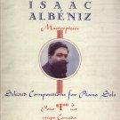 Album Of Isaac Albeniz Masterpieces  Piano Solo Music Book