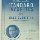 Marching Along Together Sheet Music for Male Quartette  1933