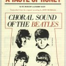 A Taste Of Honey     The Beatles    Choral Sheet Music